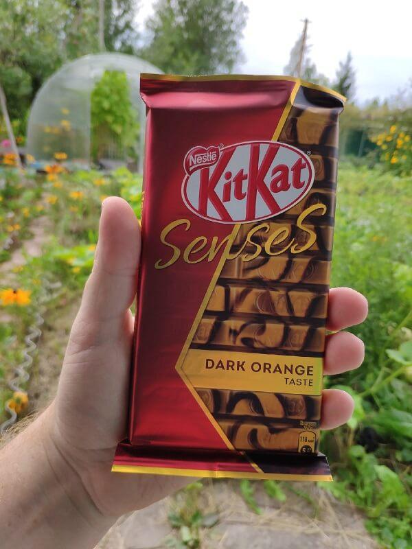 Шоколад KitKat Senses Dark orange taste отзывы